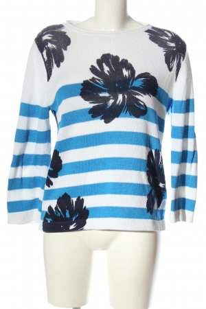 Laurèl Crewneck Sweater flower pattern casual look
