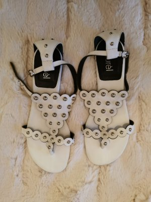 Laurèl Roman Sandals white-silver-colored