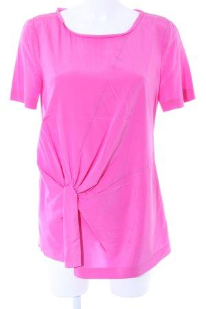 Laurèl Seidenbluse pink Casual-Look