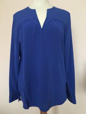 Laurel Seidenbluse in Royal Blau in Gr. 34