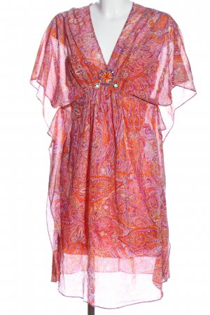 Laurèl Summer Dress abstract pattern casual look