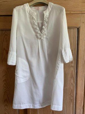 Laurèl Koszulowa sukienka biały