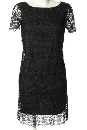 Laurèl Spitzenkleid schwarz Elegant