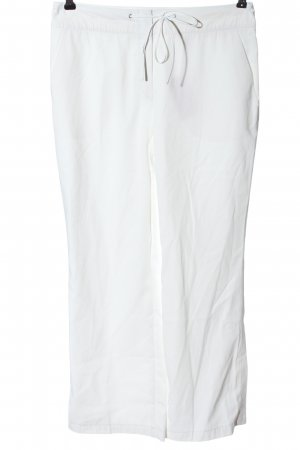 Laurèl Pantalone jersey bianco stile casual