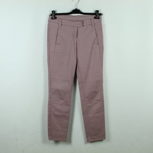 Laurèl Chinos rose-gold-coloured cotton