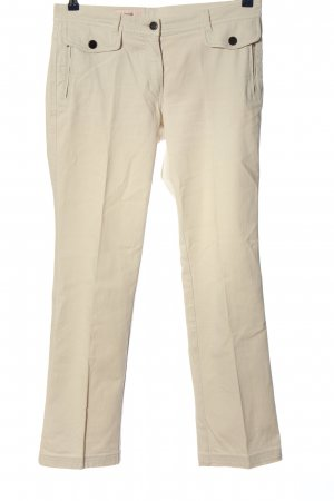 Laurèl Jeansy z prostymi nogawkami kremowy W stylu casual