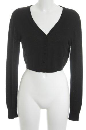 Laurèl Boléro en tricot noir style classique