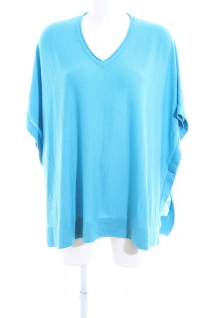 Laurèl Strickshirt blau Casual-Look