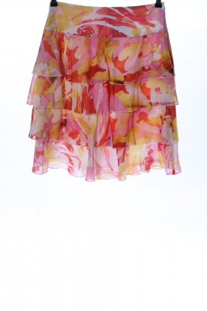 Laurèl Broomstick Skirt abstract pattern casual look