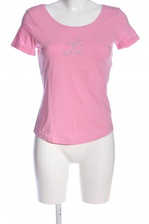 Laurèl T-Shirt pink-silberfarben Casual-Look