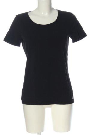 Laurèl T-shirt nero stile casual