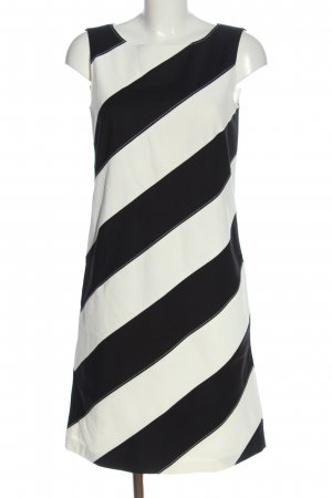 Laurèl A-Linien Kleid wollweiß-schwarz Allover-Druck Business-Look