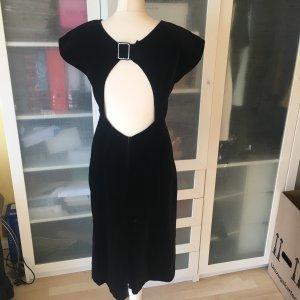 Laurel Vintage Samt Kleid Gr 36