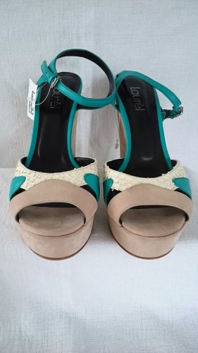 Laurel  Wedges Sandaletten Leder Neu