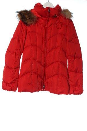 Laurèl Giacca invernale rosso motivo trapuntato stile casual
