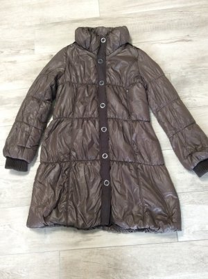 Laurèl Quilted Coat taupe