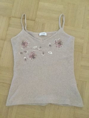 Laurel Wolle top Rosa Fr38