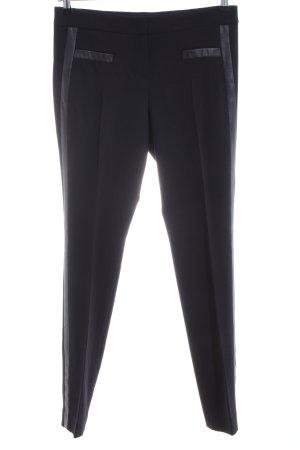 Laurèl Pantalone di lana nero stile professionale