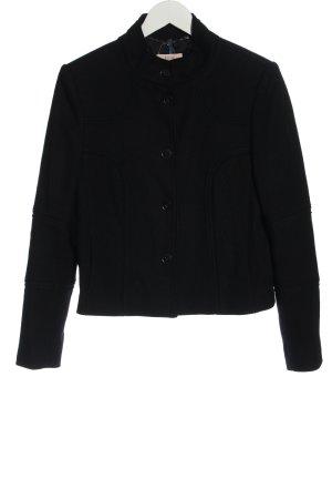 Laurèl Giacca di lana nero stile casual