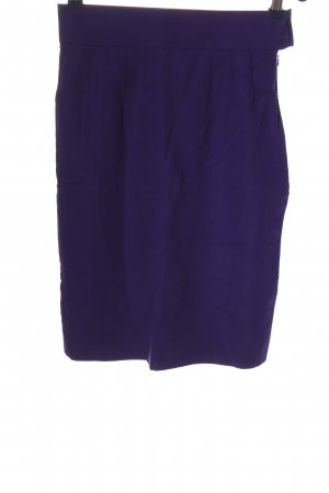 Laurèl Wool Skirt blue business style