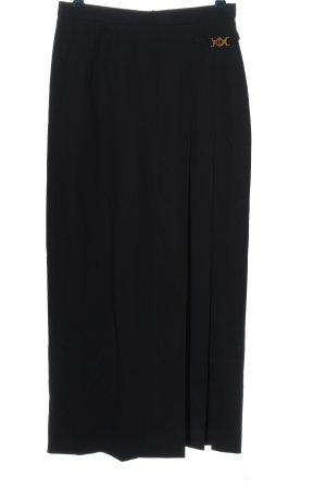 Laurèl Wollen rok zwart zakelijke stijl
