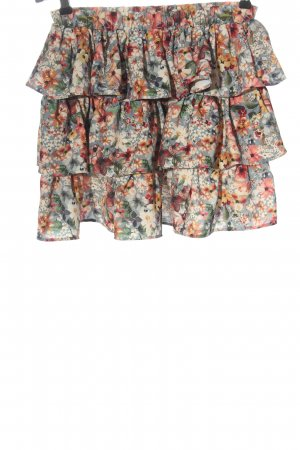 Laurella Flounce Skirt allover print casual look
