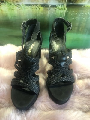 Lauren by Lauren Aleena Platform Sandals aus Leder