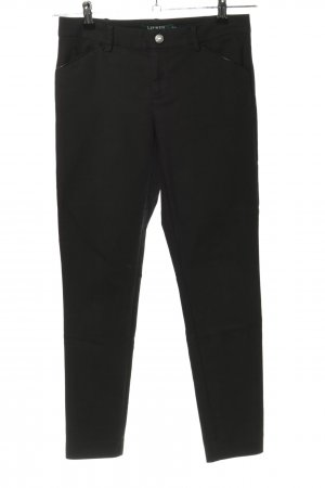 Lauren by Ralph Lauren 7/8-Hose schwarz Casual-Look