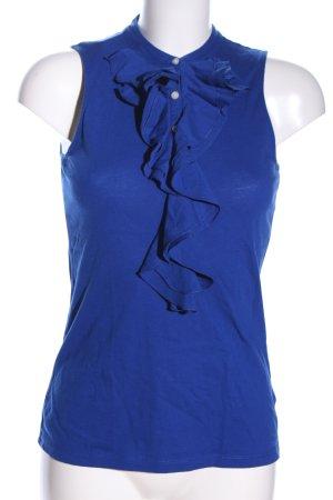 Lauren by Ralph Lauren Blusa sin mangas azul look casual