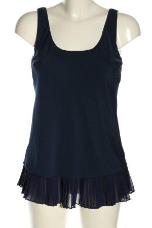 Lauren by Ralph Lauren ärmellose Bluse blau Casual-Look