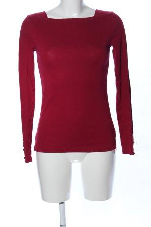 Lauren by Ralph Lauren Top basic rosso stile casual