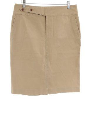 Lauren by Ralph Lauren Pencil Skirt nude-cream cotton