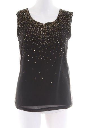 Lauren by Ralph Lauren Blouse topje zwart elegant