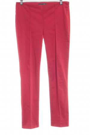 Lauren by Ralph Lauren Bundfaltenhose rot Casual-Look