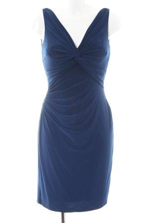 Lauren by Ralph Lauren Cocktailkleid blau Business-Look
