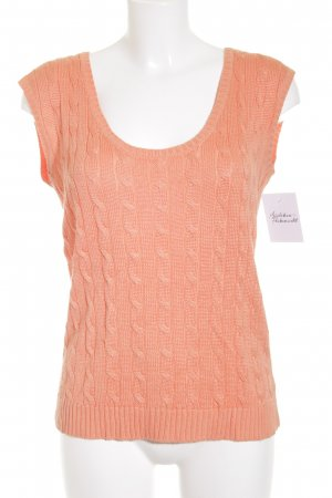 Lauren by Ralph Lauren Fine Knitted Cardigan apricot casual look