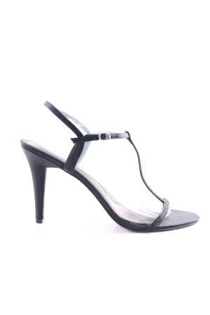 Lauren by Ralph Lauren High Heel Sandaletten schwarz Elegant