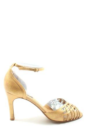 Lauren by Ralph Lauren Sandaletto con tacco alto oro stile casual