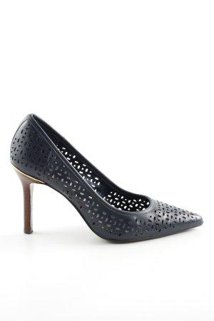 Lauren by Ralph Lauren High Heels dunkelblau Casual-Look