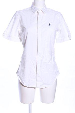 Lauren by Ralph Lauren Camicia a maniche corte bianco stile professionale