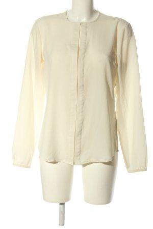 Lauren by Ralph Lauren Langarm-Bluse blassgelb Business-Look