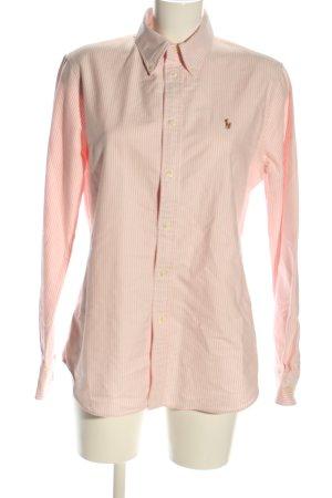 Lauren by Ralph Lauren Langarmhemd pink Allover-Druck Casual-Look