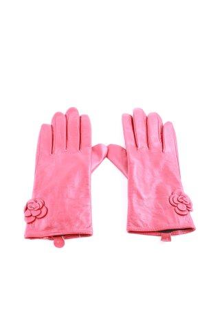 Lauren by Ralph Lauren Guanto in pelle rosa stile casual