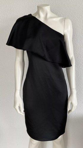 Lauren by Ralph Lauren One Shoulder Dress black