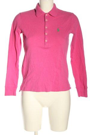 Lauren by Ralph Lauren Polo-Shirt pink Casual-Look