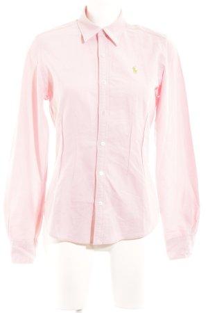 Lauren by Ralph Lauren Polo-Shirt rosé Casual-Look