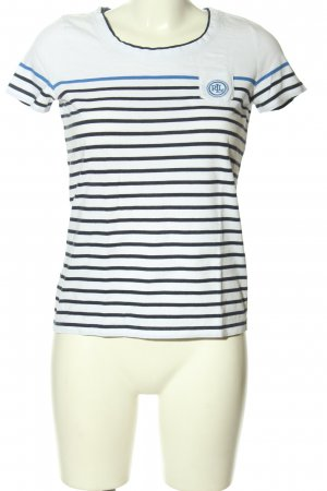 Lauren by Ralph Lauren Stripe Shirt white-black striped pattern casual look