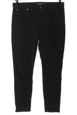 Lauren by Ralph Lauren Drainpipe Trousers black casual look