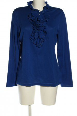 Lauren by Ralph Lauren Schlupf-Bluse blau Business-Look