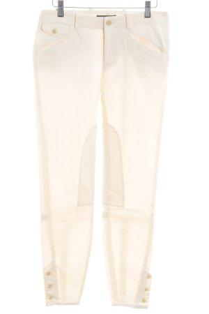 Lauren by Ralph Lauren Stretch Trousers cream casual look